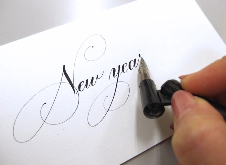 オンライン向け カリグラフィー教室calligraphyの画像