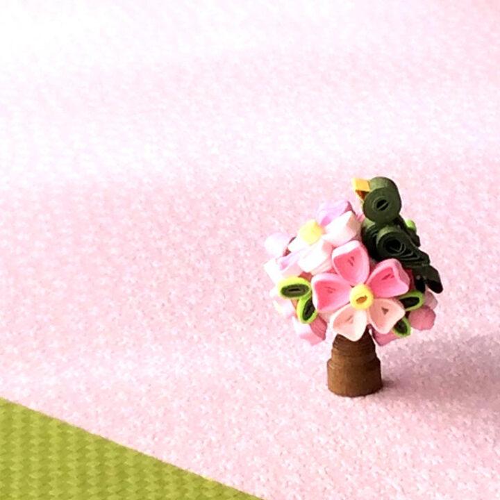 クイリング One day LESSONのご案内【お花見】の画像