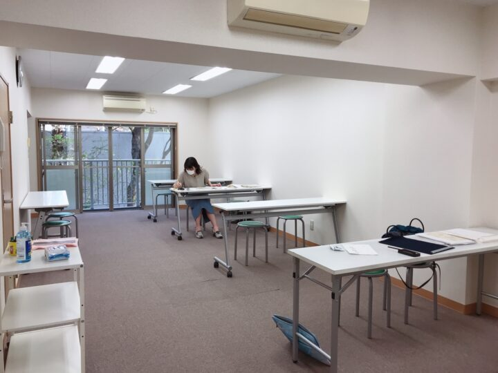 書道教室銀座校・青山校の通学を再開しましたの画像