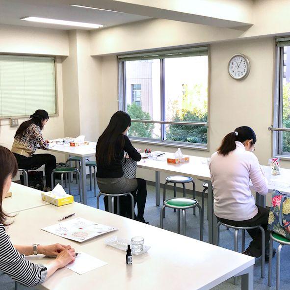 通学向け カリグラフィー教室 calligraphyの画像
